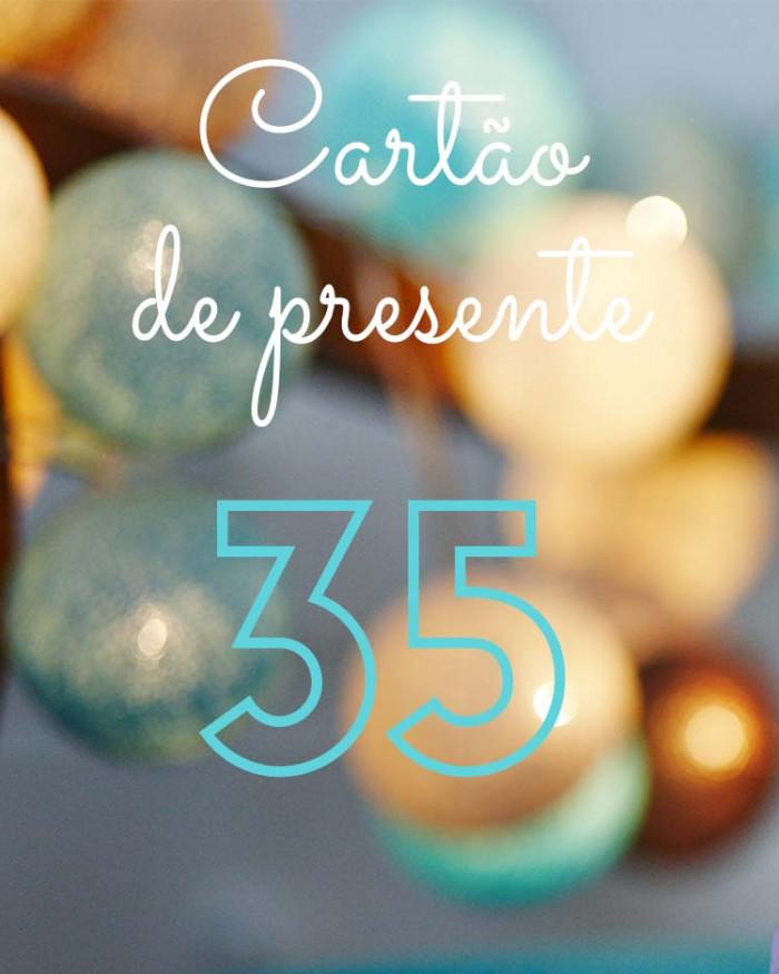 Cartão de presente 35