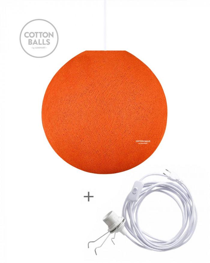 Candeeiro Errante - BIG Lamp Bright Orange