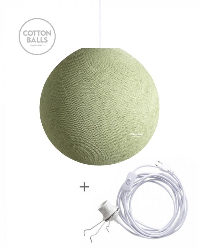Candeeiro Errante - BIG Lamp Powder Green