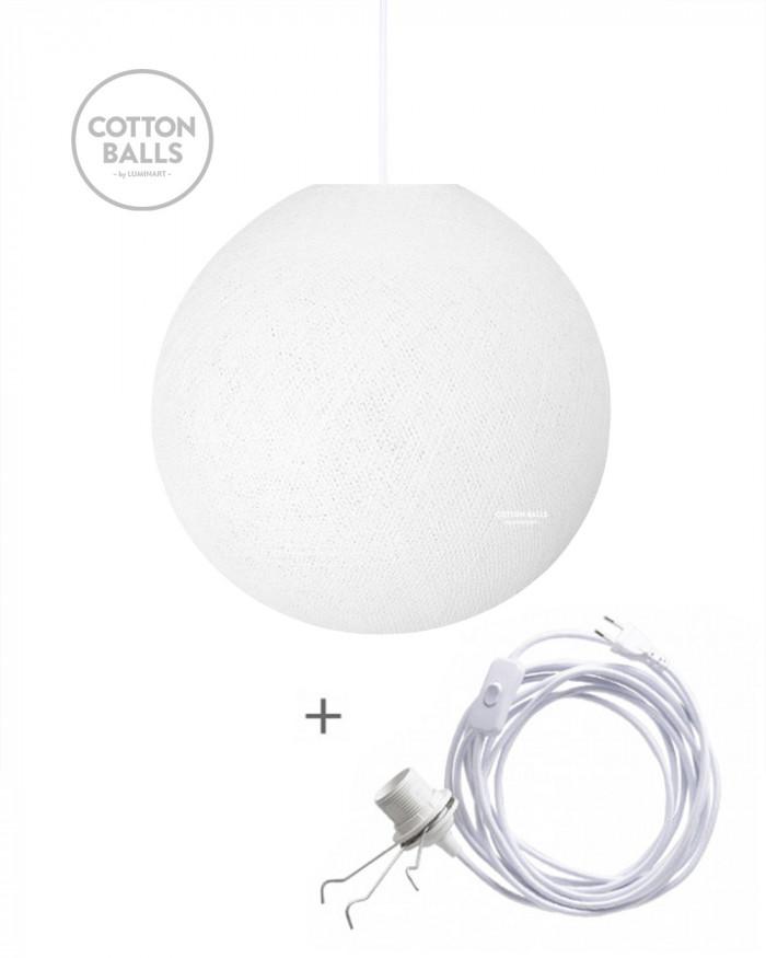 Candeeiro Errante - BIG Lamp White