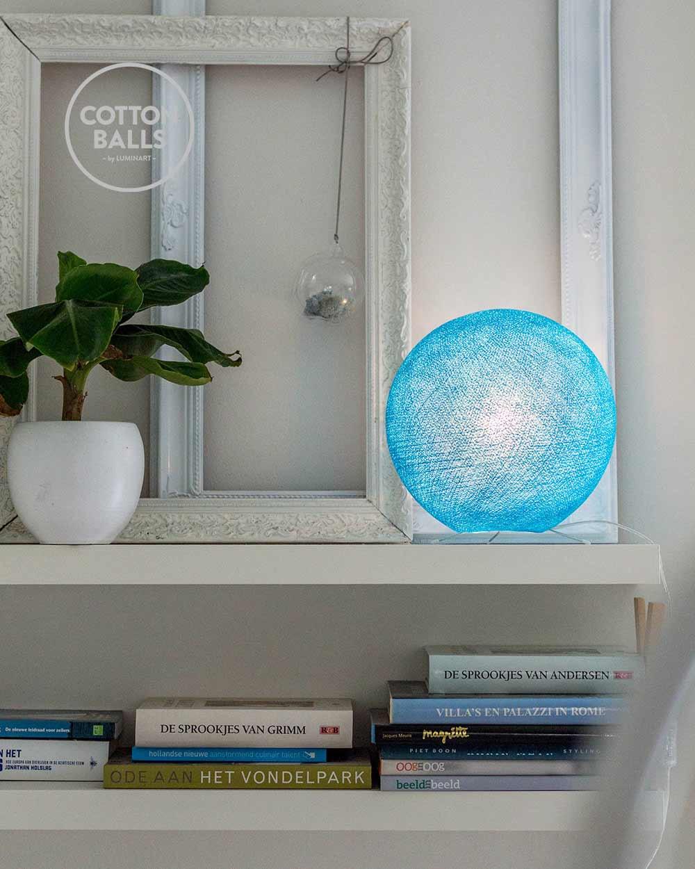 Candeeiro de Mesa - Bright Blue