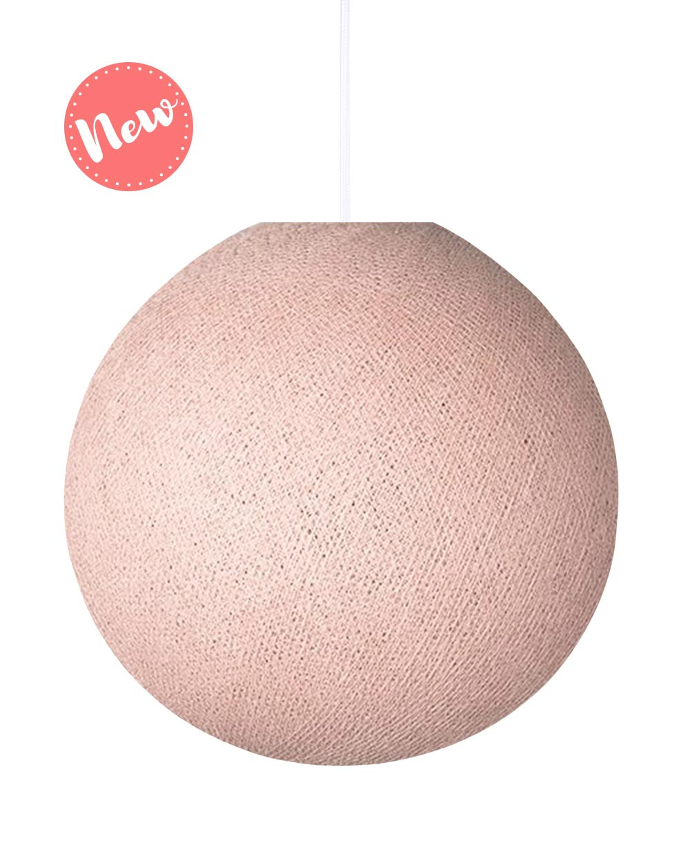 BIG Lamp Pale Pink