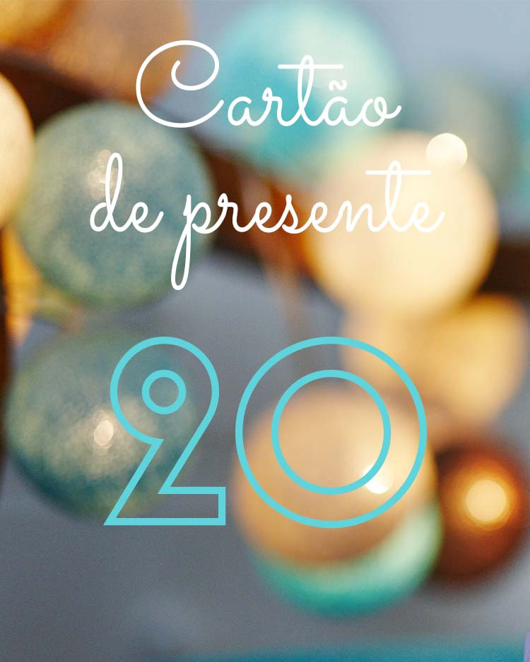 Cartão de presente 20