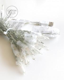 Fio USB 35 luzes LED (linha)