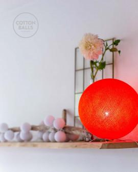 Candeeiro de Mesa - Bright Orange