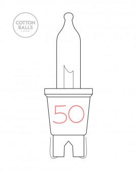 Lâmpada para fio 50 (arco)