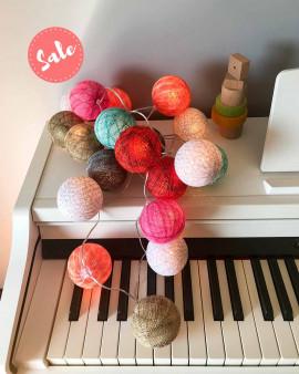 OUTLET Marbles - 20 bolas (fio em arco)