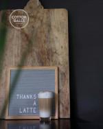 Letter Board GREY S
