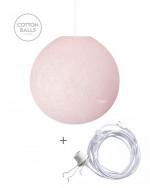Candeeiro Errante - BIG Lamp Light Pink
